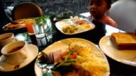 Girl tableware