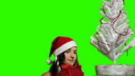 XMAS girl with christmas sack