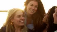 Girlfriends Party  Sunset