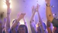 Girls having fun in disco