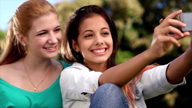 girls taking photo