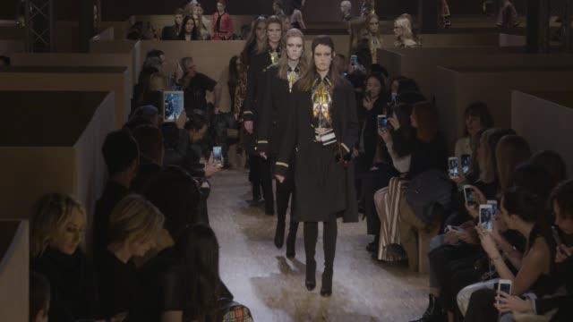 CLEAN Givenchy AW16/17 Paris Fashion Week at Le Carreau Du Temple on March 6 2016 in Paris