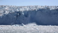 Glacial ice avalanche part 1