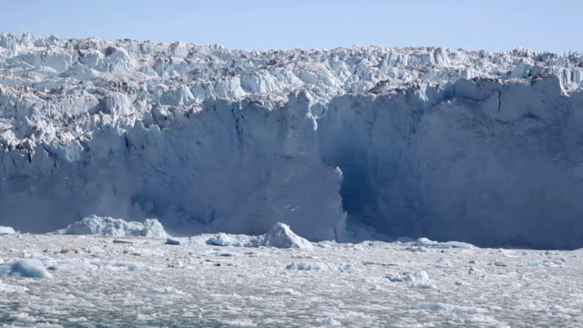 Glacial ice avalanche part 2