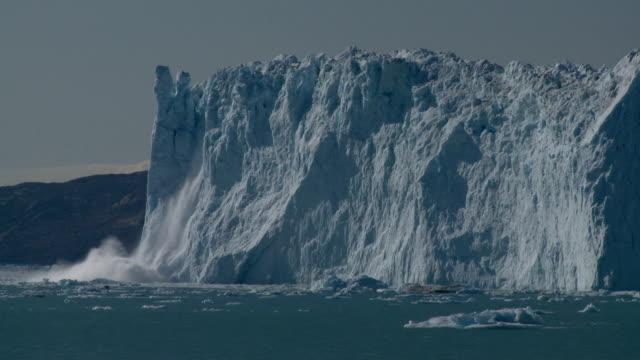 glacier cliff Kalbender Gletscher