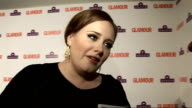 Glamour Awards Adele interview SOT **CONTAINS On winning Best Solo Artist award / Why she loves Glamour compared with other awards / On taking her...