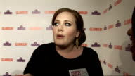 Glamour Awards Adele interview SOT On all the concerts she's going to in the next few weeks / Gutted she missed Tina Turner / On whether Michael...