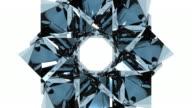 3 D Glas Kaleidoskop Design-Element