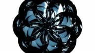 3D Glass Kaleidoscope Meditation