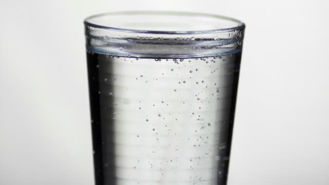 SLOW MOTION: Glass of Water