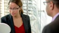 Glasses consultation