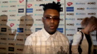 2011 MOBO Awards nominations celebrity interviews Omar LyeFook interview SOT On what's it like to be at the MOBOs / On who he is supporting at the...