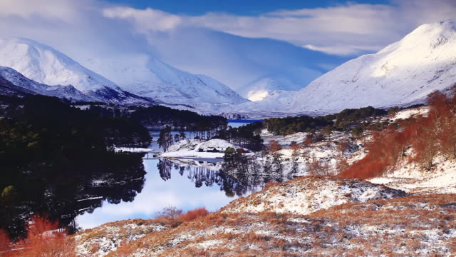 Glen Affric in the Scottish Highlands, UK.