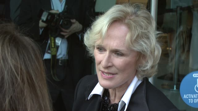 Glen Close talking about Tom Hanks at the Film Society Of Lincoln Center's 36th Gala Tribute Honoring Tom Hanks at New York NY