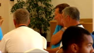 Glen Hoddle Academy for young footballers in Spain players training and competing in friendly match / Glen Hoddle interview Nr Jerez Montecastillo...