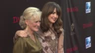 Glenn Close and Rose Byrne at the 'Damages' Season 4 Premiere at New York NY