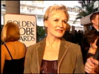 Glenn Close at the 1997 Golden Globe Awards at the Beverly Hilton in Beverly Hills California on January 19 1997