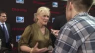 Glenn Close at the 'Damages' Season 4 Premiere at New York NY
