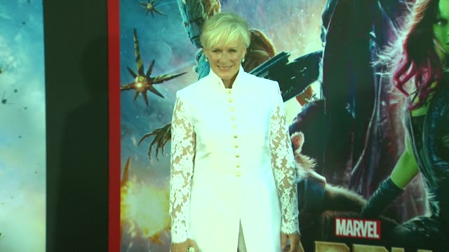 Glenn Close at the 'Guardians of the Galaxy' World Premiere at the El Capitan Theatre on July 21 2014 in Hollywood California