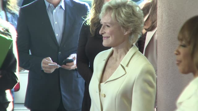 Glenn Close at the Hollywood Reporter's Annual Women in Entertainment Breakfast at Los Angeles CA