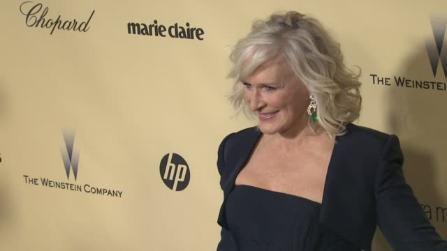 Glenn Close at The Weinstein Company's 2013 Golden Globe Awards After Party 1/13/2013 in Beverly Hills CA