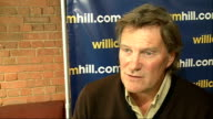 INT Glenn Hoddle interview SOT On F30 football legends tournament / who he'd pick for the England team at the upcoming World Cup / Wayne Rooney at...