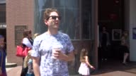 INTERVIEW Glenn Howerton on streets named after presidents while shopping in Beverly Hills at Celebrity Sightings in Los Angeles on June 23 2017 in...
