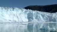Gletscher Kalbung