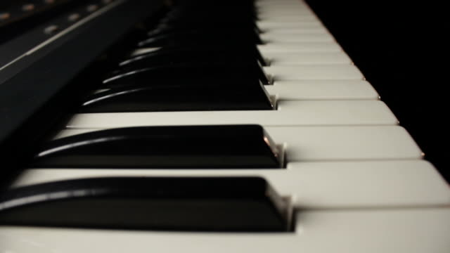 Gliding Along Piano Keyboard