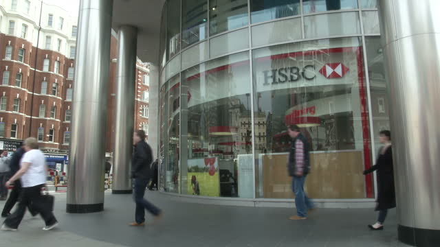 Glitch Halts Payments Process Showing Interior shots Mother with child at home Exterior shots HSBC bank Interior shots Server room Interviews with...