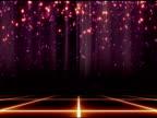Glitter Bühne Hintergrund Loop