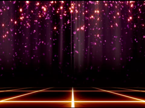 Glitter Stage Background Loop