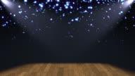 Glitter Stage Lights Background Loop
