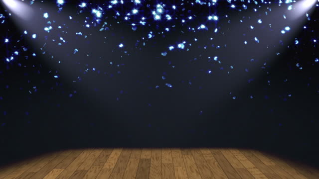 Glitter Stage Lights Background Loop