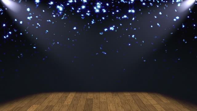 Glitter Bühne Lichter Hintergrund Loop