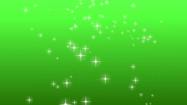 Glitter Sterne, Weihnachtsdekoration