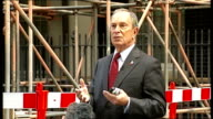Michael Bloomberg in Downing Street Michael Bloomberg speaking to press continued SOT think the question is bottom in what / stock market is one...