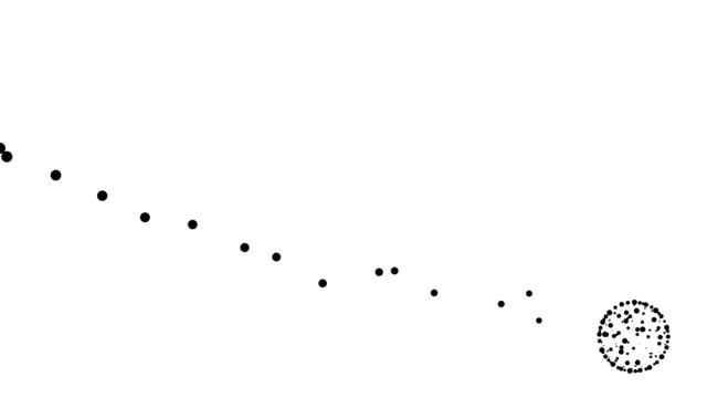 CONSTANT TREND CHART - global icon, pure black dots (TRANSITION)
