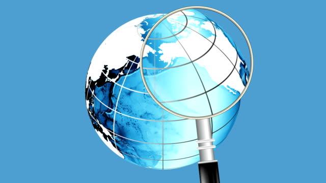 Global Search Blue Loop
