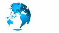4 K Welt Animation-Endlos wiederholbar