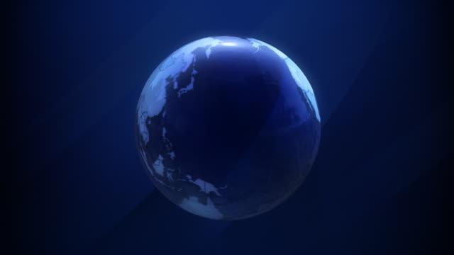 Globe to World Map