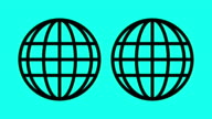 Globe - Vector Animate