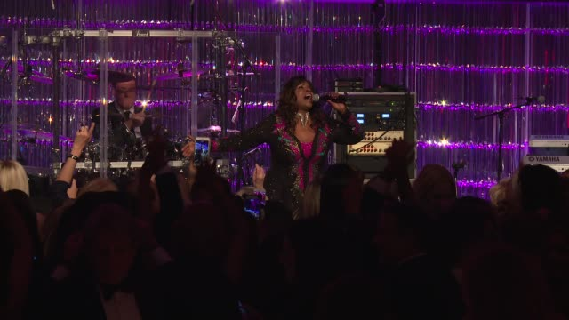 PERFORMANCE Gloria Gaynor performs at Angel Ball 2017 at Cipriani Wall Street on October 23 2017 in New York City