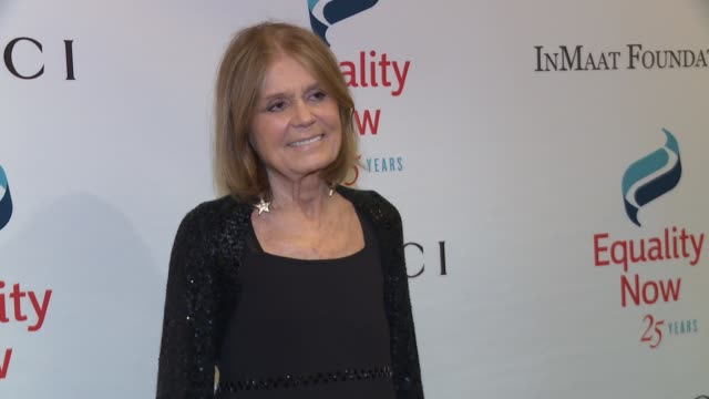 Gloria Steinem at 2017 Equality Now Gala at Gotham Hall on October 30 2017 in New York City