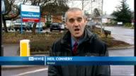 Gloucestershire car crash kills six people Bristol Frenchay Hospital EXT Reporter to camera Frenchay Hoispital Accident and Emergency entrance