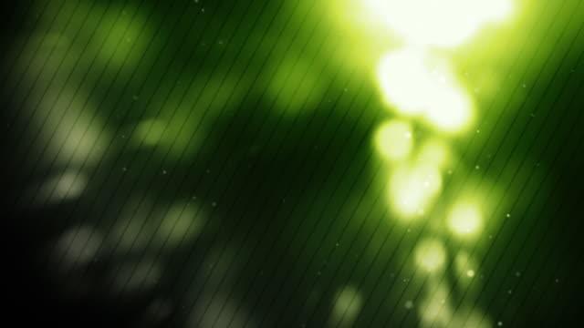 Glühend Dots Hintergrund Loop-Neongrün (Full HD