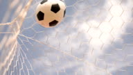 Goal with Sky Background