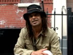 AFPTV goes to meet Yannick Noah the French tennis champturnedsinger in New York for a major music festival NY NY