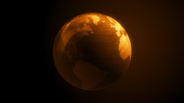 Gold globe to world map stock footage video getty images locationsglobal businessglobal communicationsglobe man made object goldhd formathorizontalideasless than 10 secondslockdownmapmedium shotno gumiabroncs Images