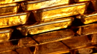 CU PAN TD gold ingots / Hanau, Hesse, Germany